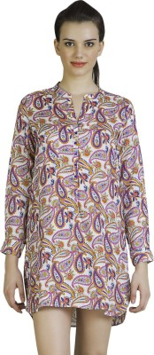 Vivante by VSA Floral Print Women's Tunic