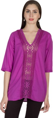 U&F Solid Women's Tunic