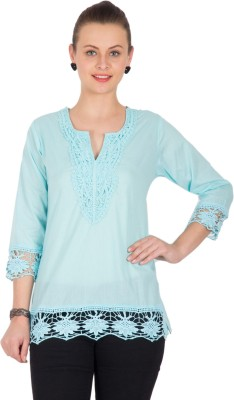 Unique Fashions Solid Women's Tunic