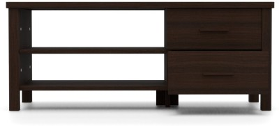 Urban Ladder Norland Compact Engineered Wood TV Entertainment Unit(Finish Color - Dark Walnut)