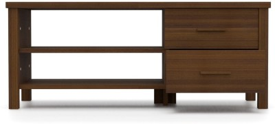 Urban Ladder Norland Compact Engineered Wood TV Entertainment Unit(Finish Color - Walnut)
