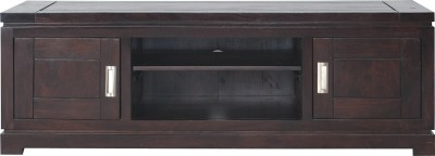 InLiving Solid Wood TV Entertainment Unit(Finish Color - Deep Walnut)