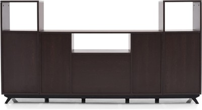 Urban Ladder Lincoln High Engineered Wood TV Entertainment Unit(Finish Color - Wenge)