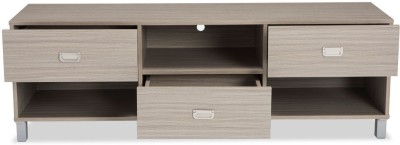 Durian WEBBER Engineered Wood TV Entertainment Unit(Finish Color - White Coffee)