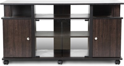 HomeTown Lynton Plasma Engineered Wood TV Entertainment Unit(Finish Color - Wenge)