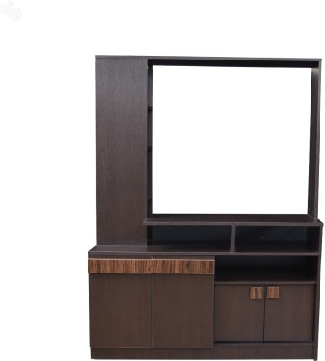 Crystal Furnitech Engineered Wood TV Entertainment Unit(Finish Color - Honey Brown)