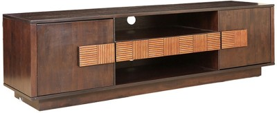 HomeTown Sienna Engineered Wood TV Entertainment Unit(Finish Color - Wenge,Oak)