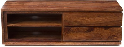 Urban Ladder Vector Solid Wood TV Entertainment Unit(Finish Color - Teak)