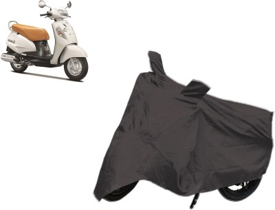 Car Cover Point Two Wheeler Cover for Suzuki(Access SE, Grey)  available at flipkart for Rs.249