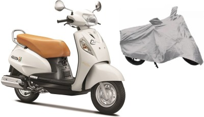Car Fashion Two Wheeler Cover for Suzuki(Access SE, Silver)  available at flipkart for Rs.249