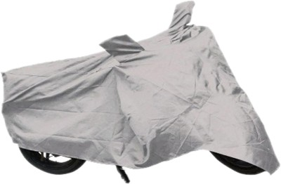 Safty Two Wheeler Cover for Honda(Trigger, Silver)  available at flipkart for Rs.199