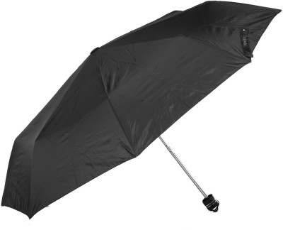 Bizarro Plain Combo-3-Fold (Set of 2) Umbrella(Black)