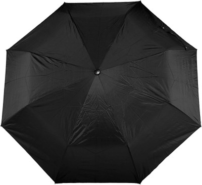Bizarro Plain 3-Fold Umbrella(Black)
