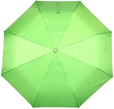Bizarro Plain 3-Fold Umbrella(Green)
