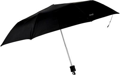 Bizarro Plain Fold Heavy Quality (Set of 2) Umbrella(Purple, Black)