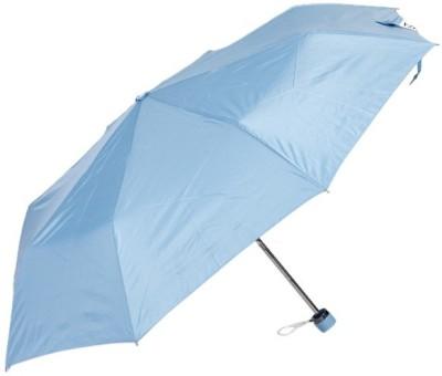 Bizarro Plain 3-Fold 1 Umbrella(Blue)