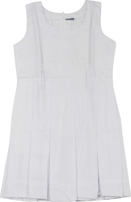 Hirawats White Uniform Pinafore(New Delhi, Kolkata)