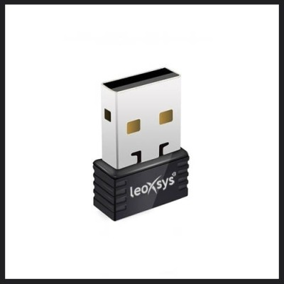 Leoxsys LEO-AP150N USB Adapter(Black)  available at flipkart for Rs.349