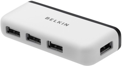 Belkin 4 PORT HUB USB Adapter White