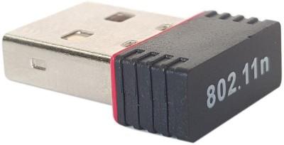Adnet Wireless N 802.11N Nano Dongle (Mini WiFi ) USB Adapter(Black)