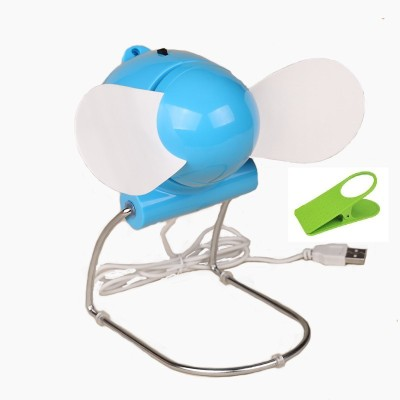 Portable Flexible Electronic Laptop Cooling Fan With Clipholder UABF77 USB Fan Multicolor Portable Mobile Accessories