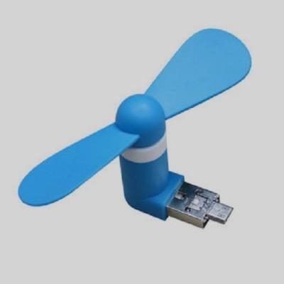 Mobifan Android Micro USB Fan  Blue  MOBFBA01 USB Fan Blue Mobifan Mobile Accessories