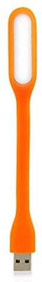 Heartly USBLED 13 Light Flexible Lamp 5V 1.2W Ultra Bright 180 Degree AdjustablePortable Led Light(Orange) Flipkart