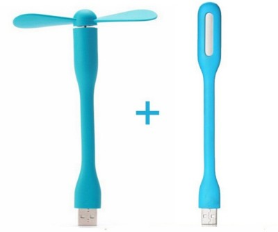 SDWA AD_SD SD_WA_999 USB Fan, Led Light Blue, Blue