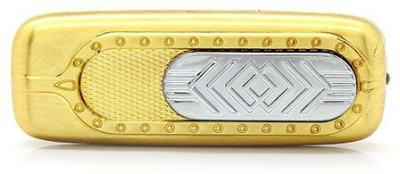 Pia International WITH UV LIGHT GOLDEN Cigarette Lighter Gold Pia International Mobile Accessories