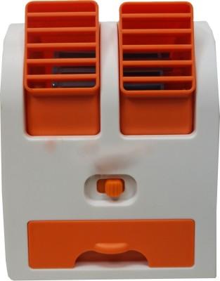 Muren Unique Ice Cooled USB Air Dispenser cum Cooler USB Cooler   1384 Laptop Accessory Orange, White