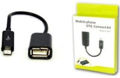 Azad Enterprise OTG CONNECT KIT 2314 USB Hub Black Azad Enterprise Mobile Accessories