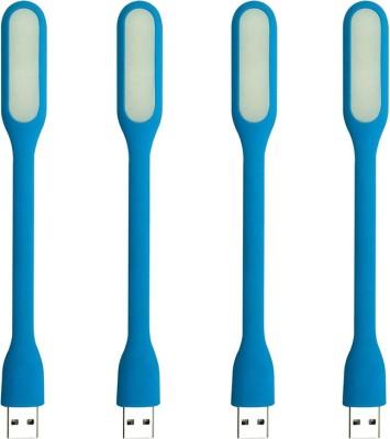 Stealodeal Flexible Ultra Bright 4pc Blue Lamp Led Light