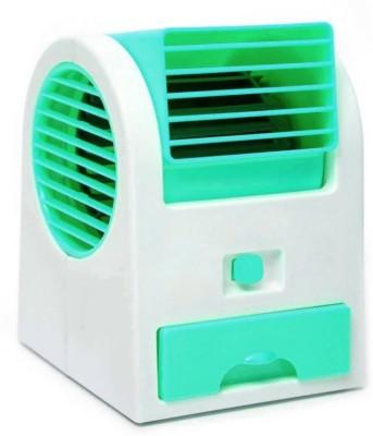 Riddhi Siddhi Cooler Mini Portable USB Fan Green