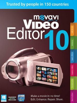 Movavi Video Editor 10(Lifetime, 1 PC)
