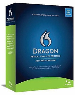 Nuance Dragon Medical Practice Edition 2(Perpetual License, 2 PC) at flipkart