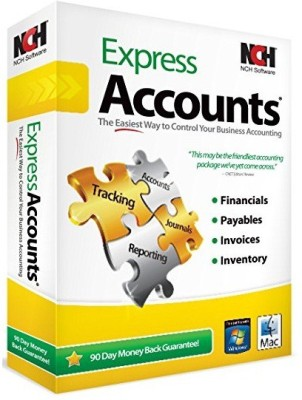 NCH Express Accounts Accounting(Lifetime, 1 PC) at flipkart