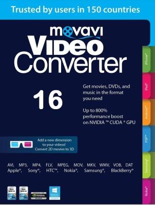 Movavi Video Converter(Lifetime, 1 PC)