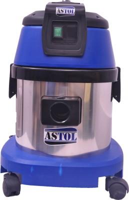 ASTOL SV-15 Wet & Dry Vacuum Cleaner(Blue, Yellow)