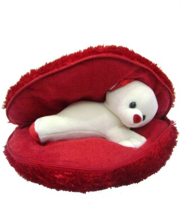 Saugat Traders Very Big Heart with Teddy   18.9 Inch Red Saugat Traders Soft Toys