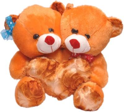 Ktkashish Toys Kashish Brown Couple Teddy Bear 12 Inch   12 inch Brown Ktkashish Toys Soft Toys