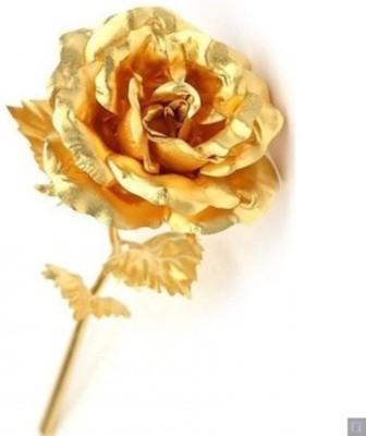 85 Off On Rajheera Golden Rose Valentine Gift Showpiece 15 Cm