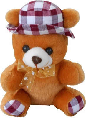 Saugat Traders Cap Teddy   20 cm Brown Saugat Traders Soft Toys