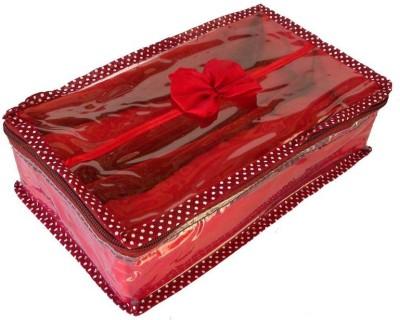 Kuber Industries Two Rod Bangle Jewellery Vanity Box Maroon