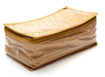 K&P 5 Case Brown Satin Locker and Bangle Jewellery & Bangle Storage Vanity Box(Brown)