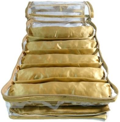 Addyz 5 Rods Bangles Jewellery Vanity Box(Golden) at flipkart