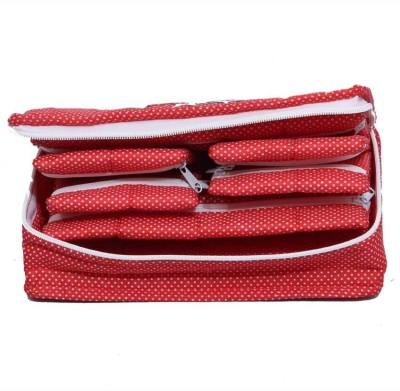 Kuber Industries Locker Jewellery Vanity Box Red
