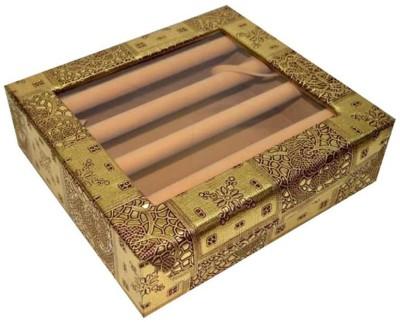 Paliwal bangle4rod bangel box Vanity Box(silver, red, pink)