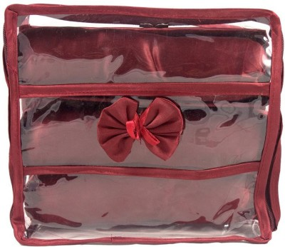 Annapurna Sales Churi/Bangles Case Jewellery Vanity Box(Maroon)  available at flipkart for Rs.222