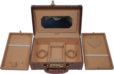 Fashion Atelier Beautiful Storage Vanity Box(Copper)