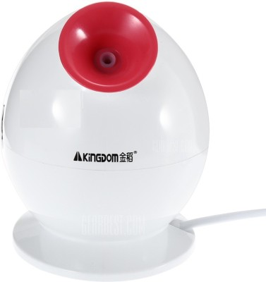 KINGDOM Facial Steamer Nano Ionic Herbal Natural Skin Sprayer Moisturizing Machine Vaporizer(White)